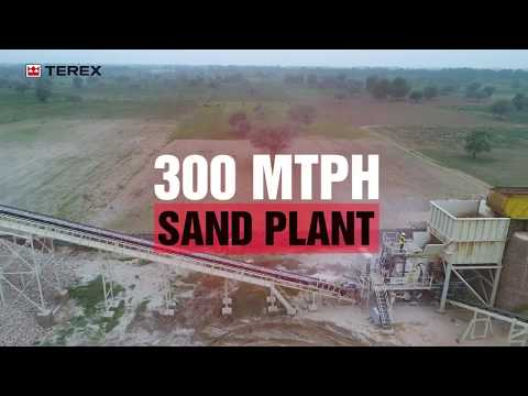 Terex MPS Modular Sand Plant - Shivalaya Construction Company Pvt Ltd - Charkhi Dadri, India