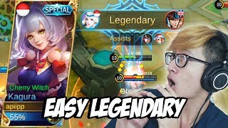 19 KILL PAKE KAGURA + NEW SKIN SPECIAL, GG ! - MOBILE LEGENDS INDONESIA #16 thumbnail