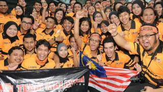 Team Malaysia theme song:Gemuruh Suara
