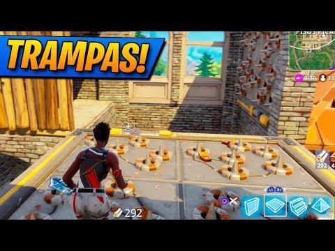 La TORRE De Las TRAMPAS! FORTNITE: Battle Royale