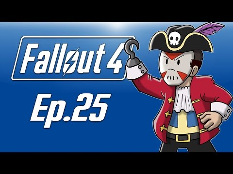 Delirious plays Fallout 4! Ep. 25 (X-01 Power Armor!) Flying Pirate Ship!!!