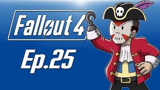 Delirious plays Fallout 4 Ep. 25 X-01 Power Armor Flying Pirate Ship