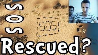 Men Stranded on Desert Island Rescued After Writing