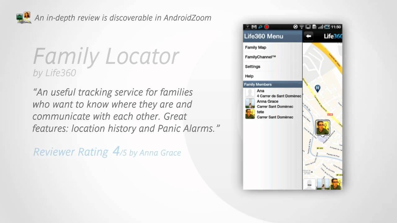 Discover Family Locator on Android