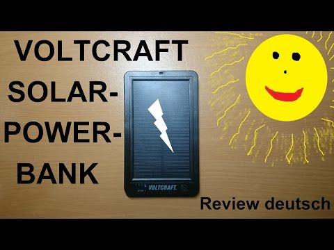SOLAR-POWERBANK // Review deutsch