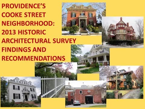 Architectural History of Providence's Cooke Street Neighborhood