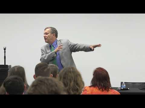 A Reading & Conversation with Dana Gioia - University of Dallas