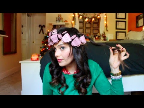 Vintage Inspired Curls Using Hot Rollers A Tutorial