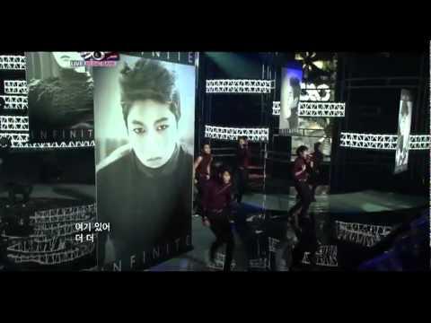 Infinite - Paradise(Music bank ComeBack Stage)