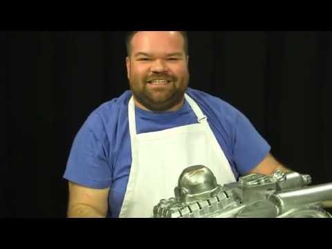 Jordan's Kraft Korner: Build a Model Spaceship! | Axis of Awesome