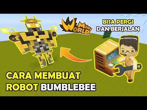 CARA MEMBUAT ROBOT BUMBLEBEE V2 KEREN - MINI WORLD BLOCK ART ( TUTORIAL ) thumbnail