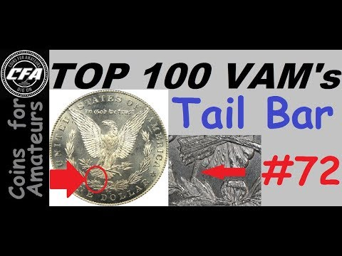 1890 CC VAM 4 'Tail Bar' Morgan Die Gouge Variety | What Is A Rare Carson City Silver Dollar Worth?