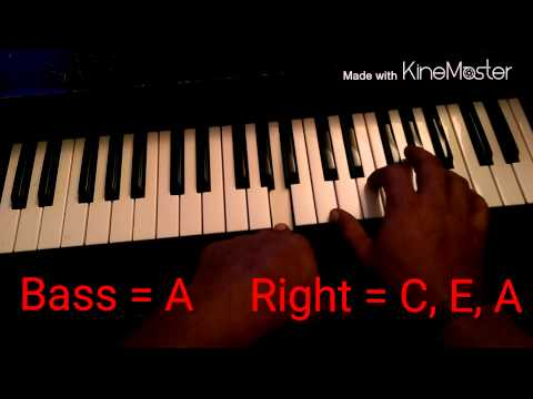 """Piano Tutorial for ILoveMakonnen """"Tuesday"""" by illwill"""