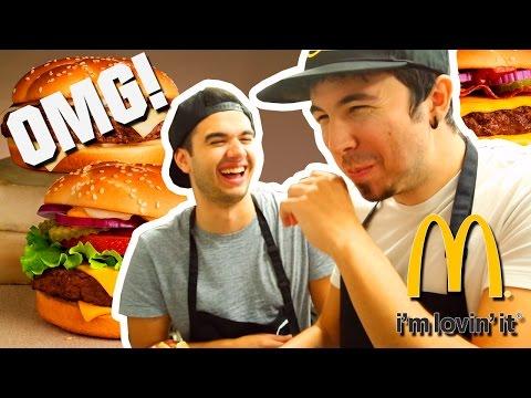 LOS MEJORES COCINEROS DEL MUNDO! Willyrex y sTaXx   McDonalds