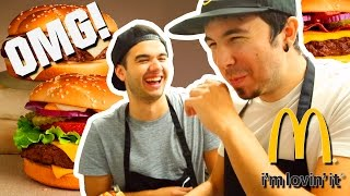 LOS MEJORES COCINEROS DEL MUNDO! Willyrex y sTaXx | McDonalds