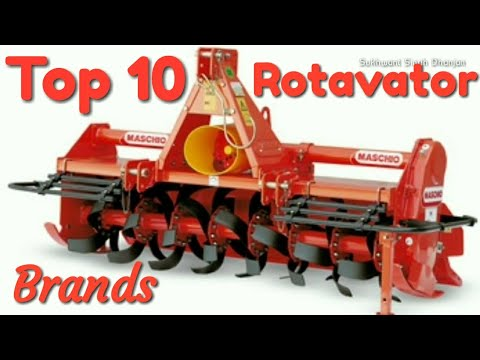 Top 10 rotavators