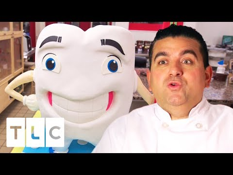 A Big Goofy Tooth Cake! | Cake Boss