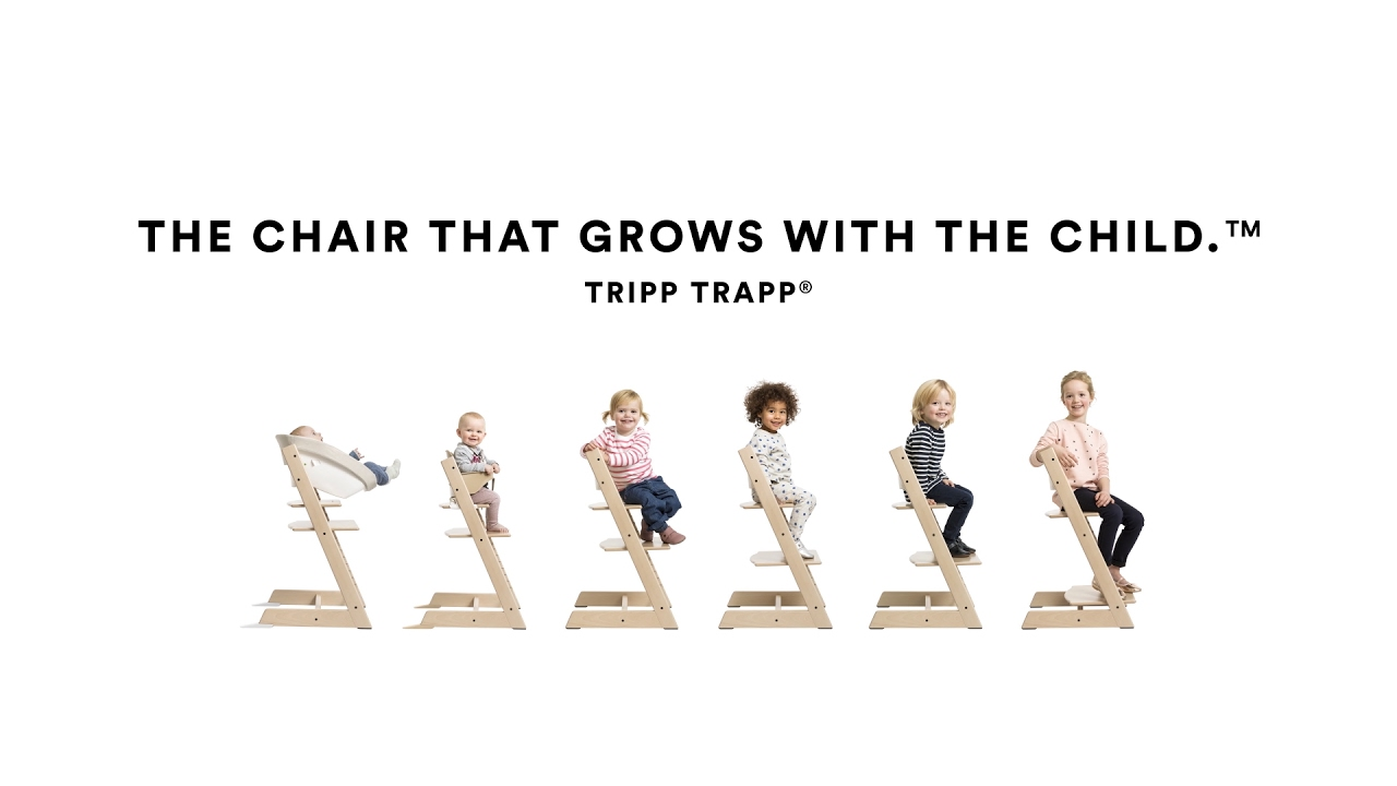 stokke high chair brushed metal chairs how to use the tripp trapp from youtube