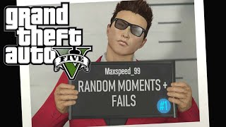 Random Moments + Fails! (Capture Minigame, Transform Race, & More) - GTA 5 Online