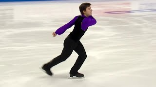 Роман Савосин. Короткая программа. Мужчины. Skate America. Гран-при по фигурному катанию 2019/20