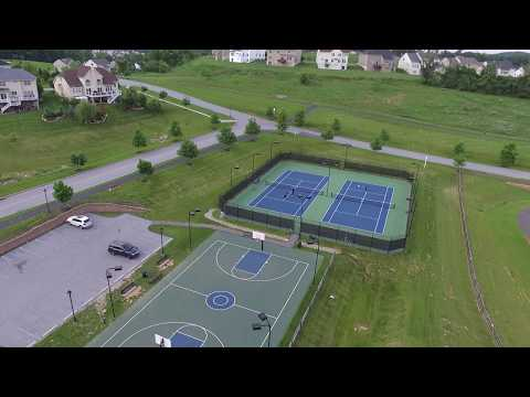Byers Station Chester Springs PA 19425 Clubhouse Pool Basketball court Tennis court