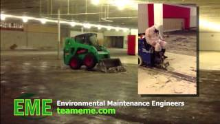 Mastic Tile Removal services by Team EME