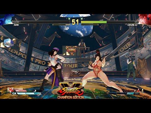 Street Fighter V CE Juri vs Chun Li PC Mod #2 |