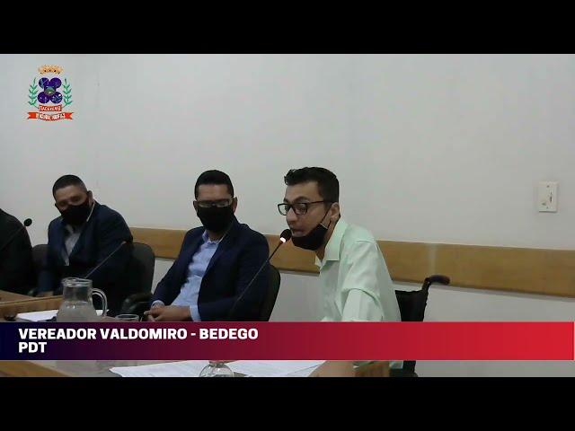 Câmara Municipal de Vereadores de Itacarambi MG Reunião realizada no dia 28/04/2021