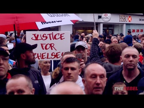 Tommy Robinson: Another big Justice For Chelsey march!