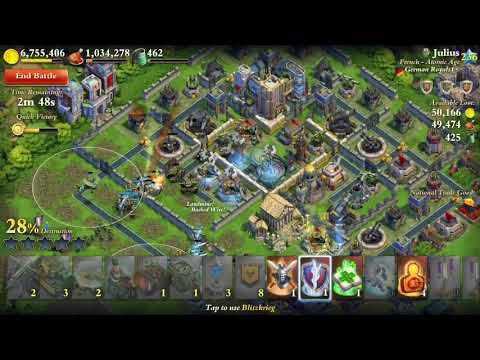 Dominations world war attack VS Julius - MISSILE SILO