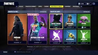 "FORTNITE BOUTIQUE From September 25Th Back From Skins ""PRESAGE"" - ""TERROR FLUO"""