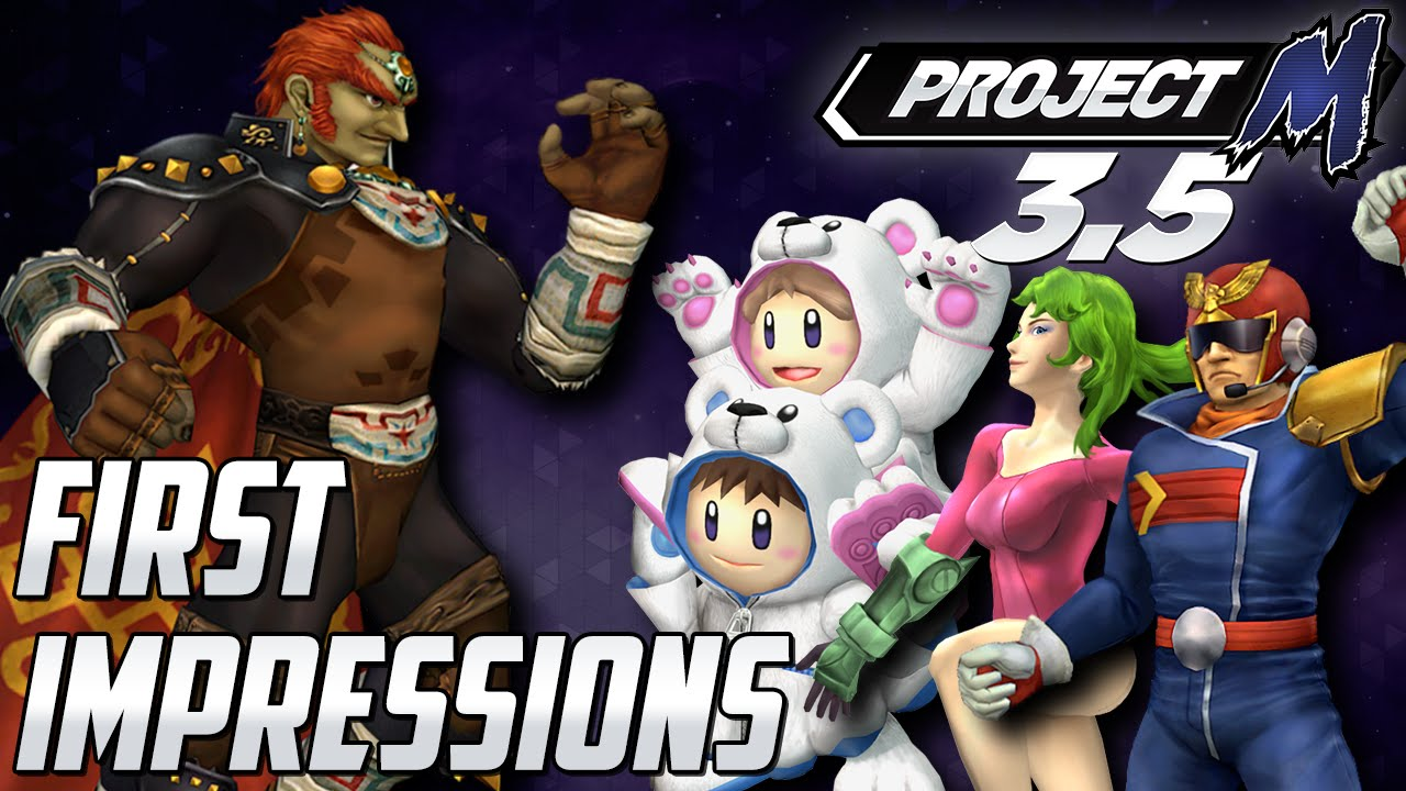 Project M 35 First Impressions New Ganondorf Moveset HD Stages New Costumes Aaronitmar