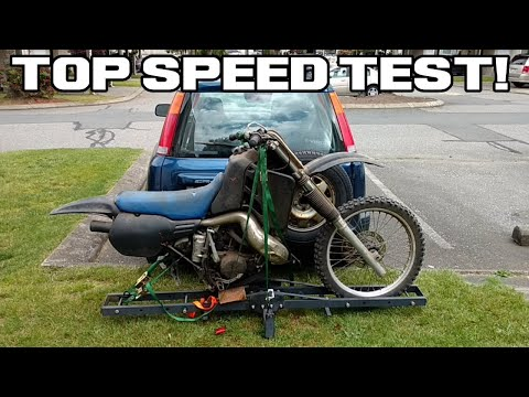 HOW FAST IS A CR500!!!