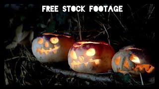 'ENGLISH TURNIP JACK O' LANTERNS' Free Stock Footage