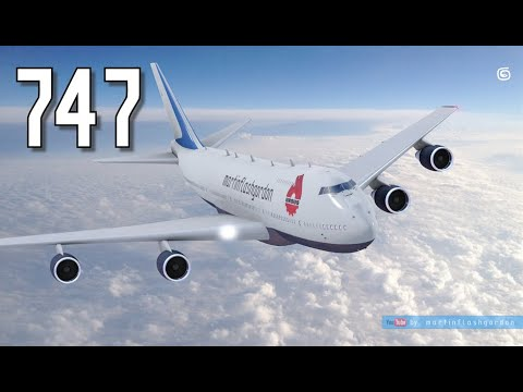 747 transports tractor Ursus C 385A to South America | Element 3D