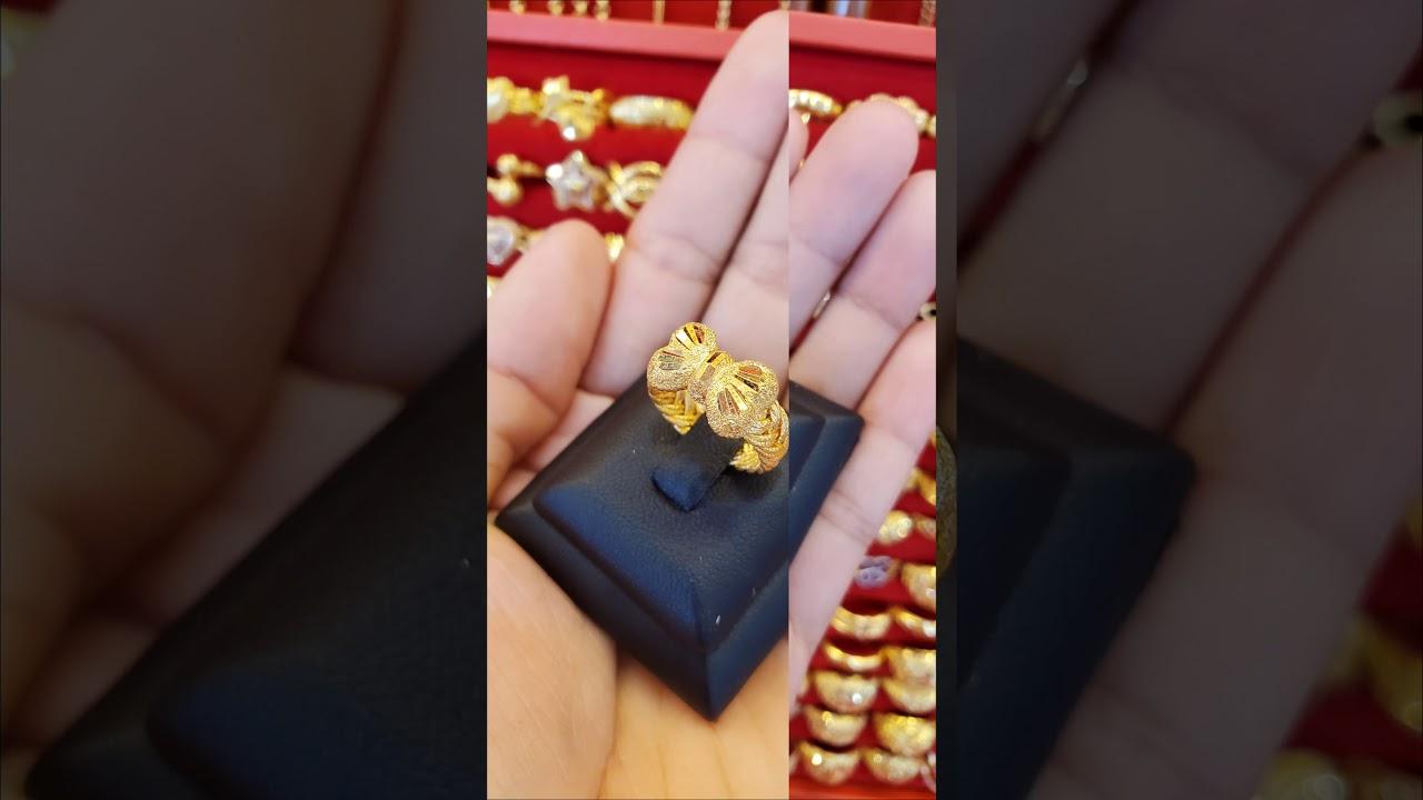 รีวิว: แหวนทอง 1 สลึง, ทอง 96.5% (11/4/2020)