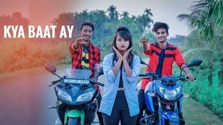 Kya Baat Ay - Hardy Sandhu | Jeet | Cute Love Story By Besharam Boyz |