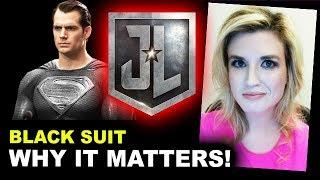 Justice League - Superman Black Suit - Beyond The Trailer