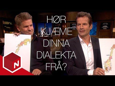 Jon og Håvard konkurrerer i norske dialekter | Praktisk info med Jon Almaas | TVNorge