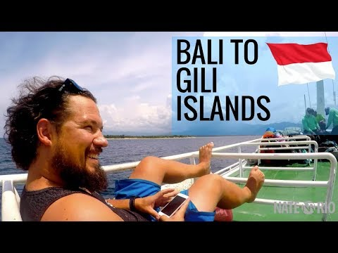 Boat Trip From Bali to Gili Islands!