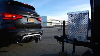 X3 Trailer Hitch | BMW Genius How-To