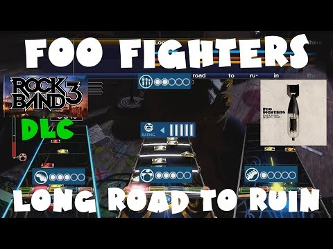 Foo Fighters - Long Road to Ruin - Rock Band 3 DLC Expert Full Band (May 10th, 2011)