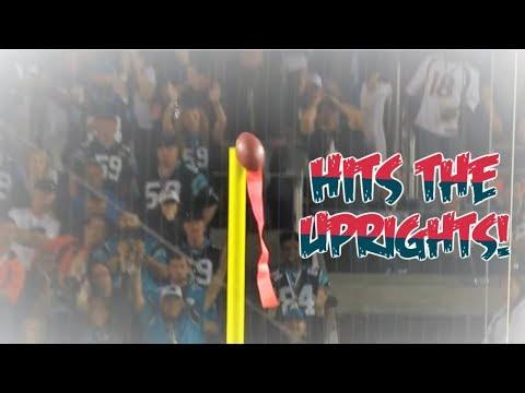 NFL Field Goal Hits Upright