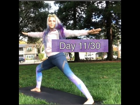 day 11 beginner yoga expansive stretching and dynamic