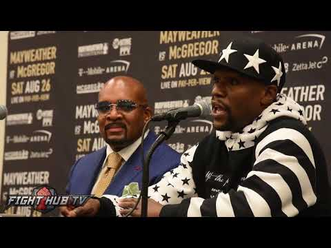 Floyd Mayweather 'They're gonna be talking about this move in HARVARD' talks making McGregor fight