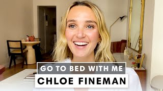 Chloe Fineman's Hydrating Nighttime Skincare Routine | Go To Bed With Me | Harper's BAZAAR