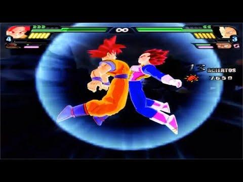 Dragon Ball Z Budokai Tenkaichi 3 - Goku  SSG God and Vegeta SSG God Fusion VS MODS ALEATORIOS #7