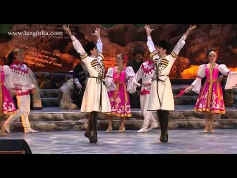 Lezginka State Dance Company from Daghestan