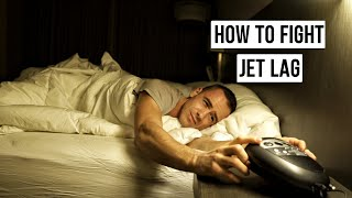 HOW TO FIGHT JET LAG | TIPS FROM A FLIGHT ATTENDANT