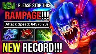 NEW RECORD!!! MONSTER SLARK 16 TIMES RAMPAGE +400 AGILITY 55 KILLS IN IMMORTAL RANK DOTA 2